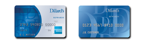 Dillard's Rewards Credit Cards